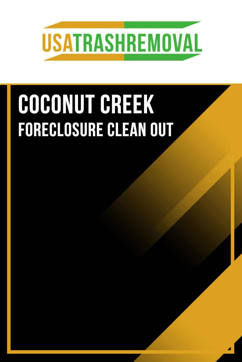 Coconut Creek Foreclosure Cleanout