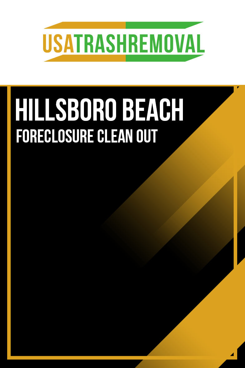 Hillsboro Beach Foreclosure Clean Out