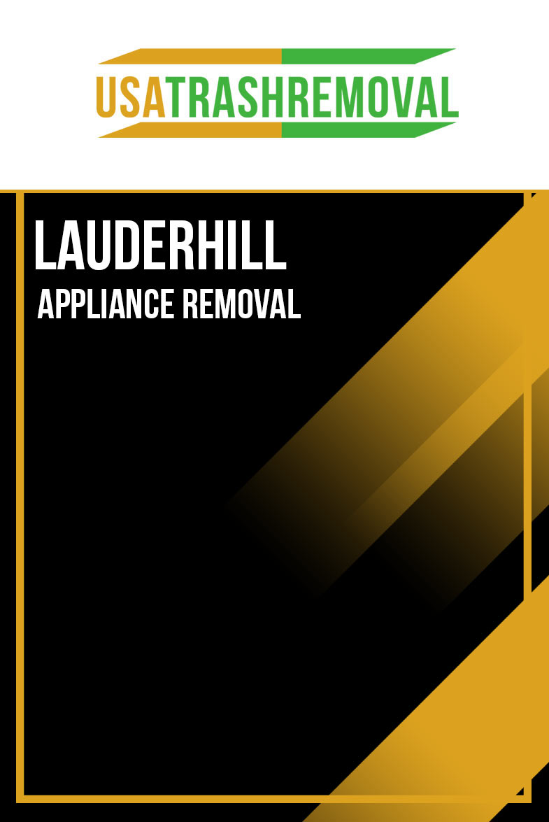 Lauderhill Appliance Removal