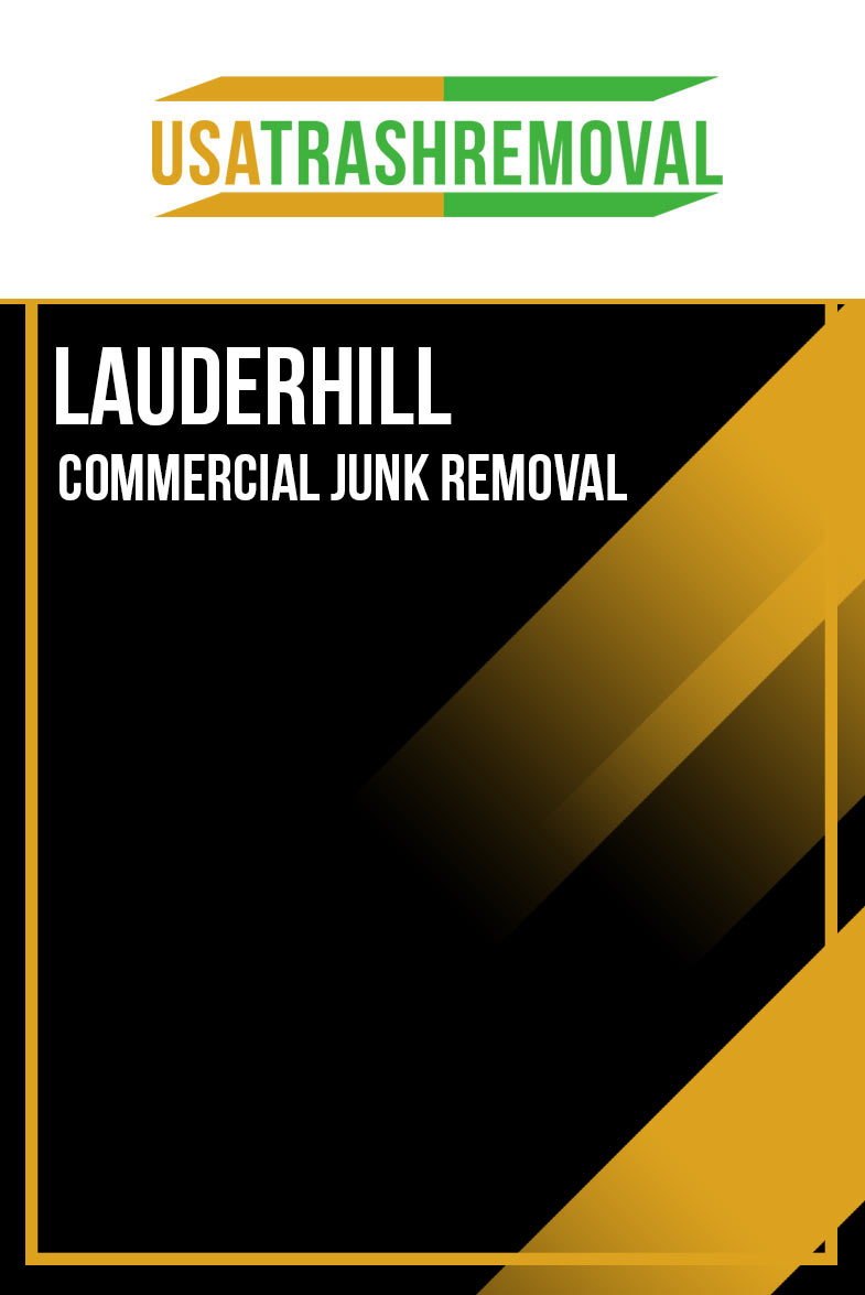 Lauderhill Commercial Junk Removal