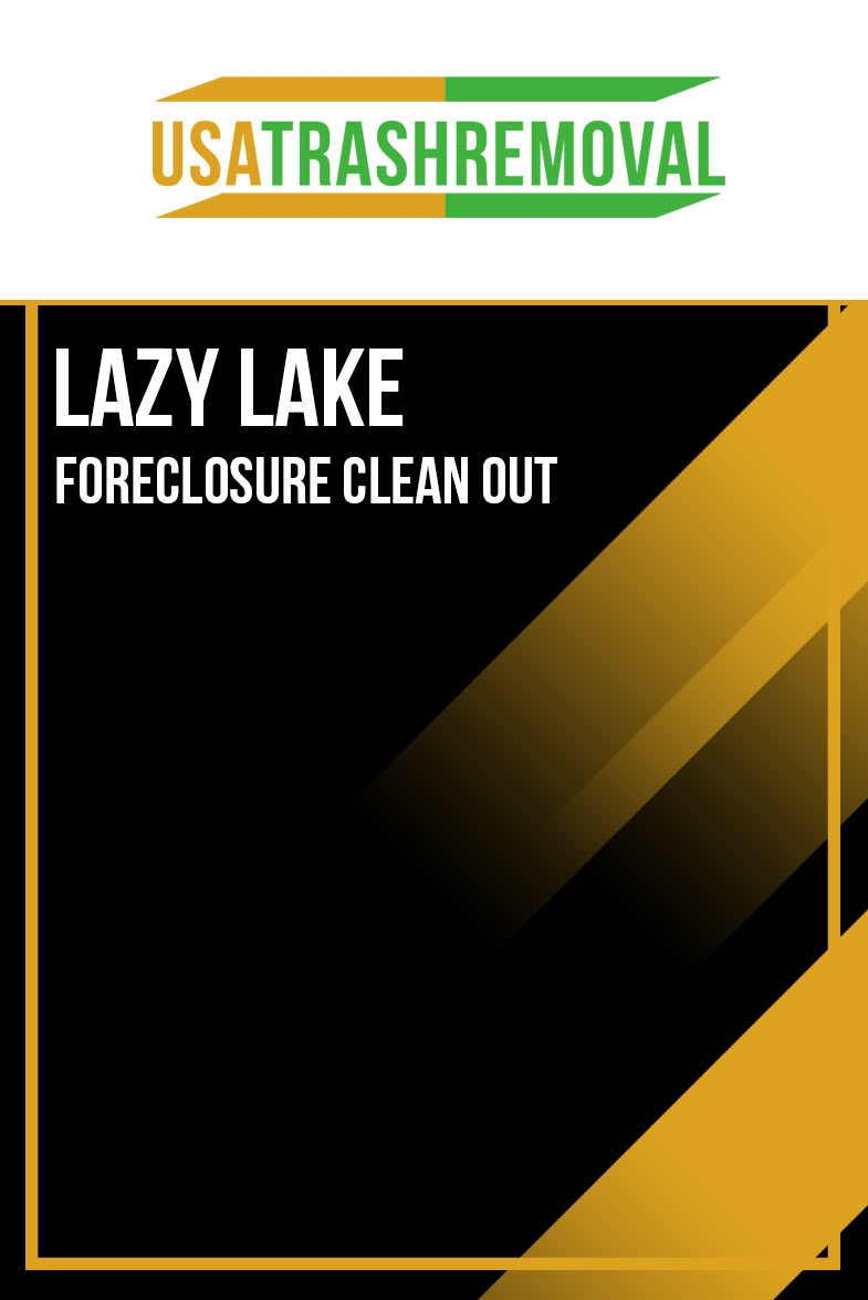 Lazy Lake Foreclosure Cleanout