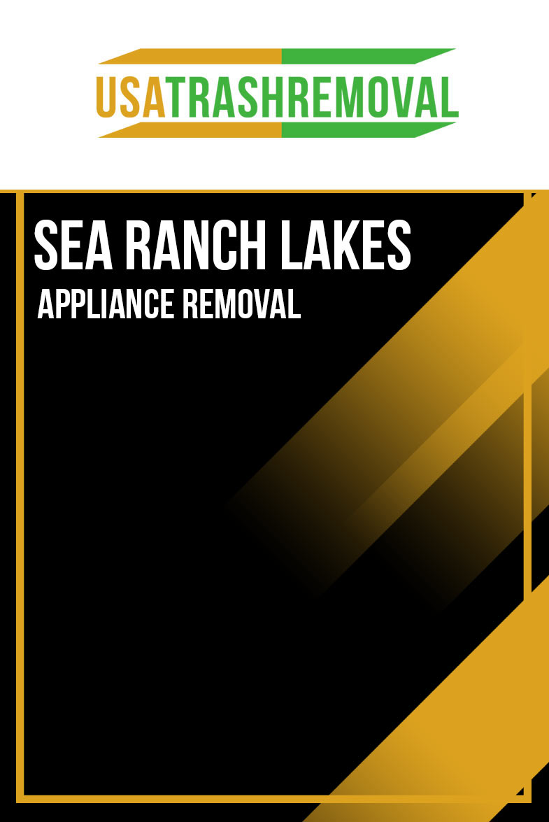 Sea Ranch Lakes Appliance Removal