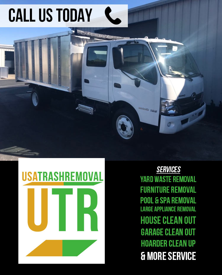 Trash Pick Up Services - USA Trash Removal Services