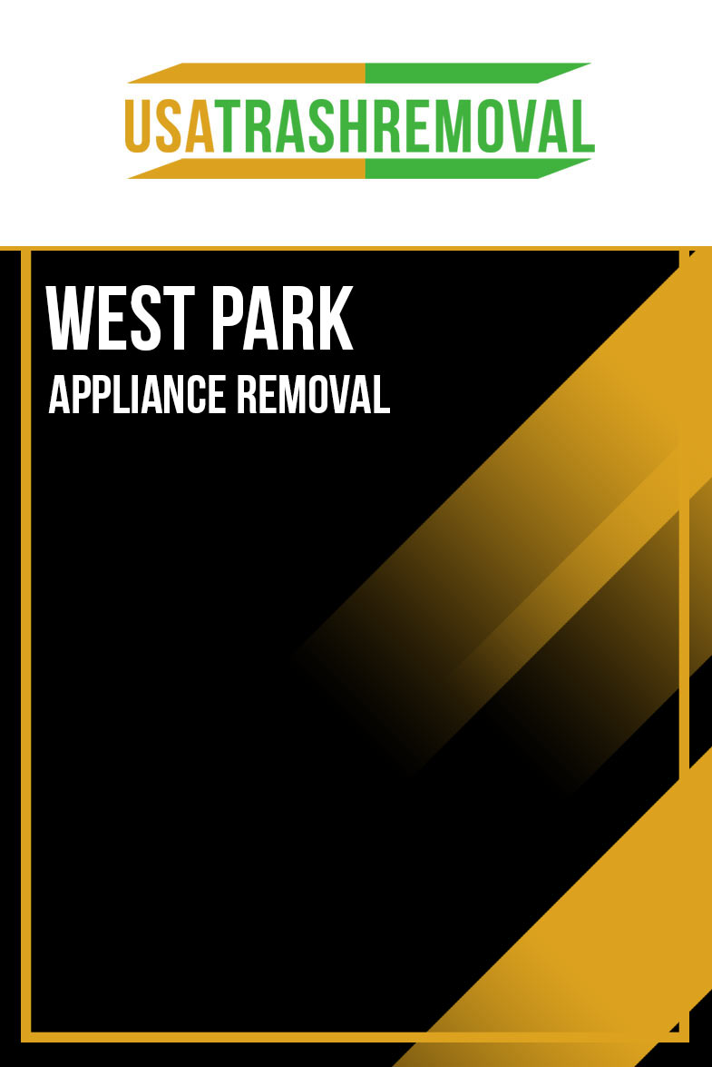 West Park Appliance Removal