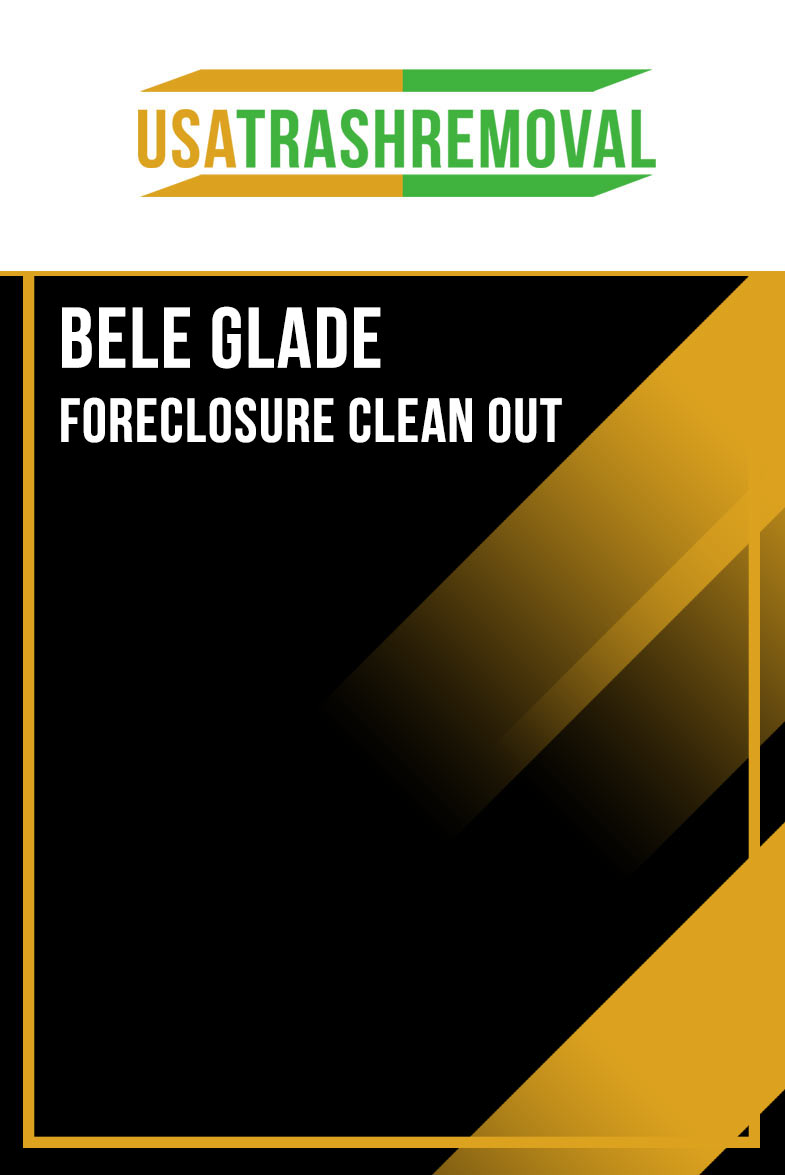 Belle Glade FL Foreclosure Cleanout