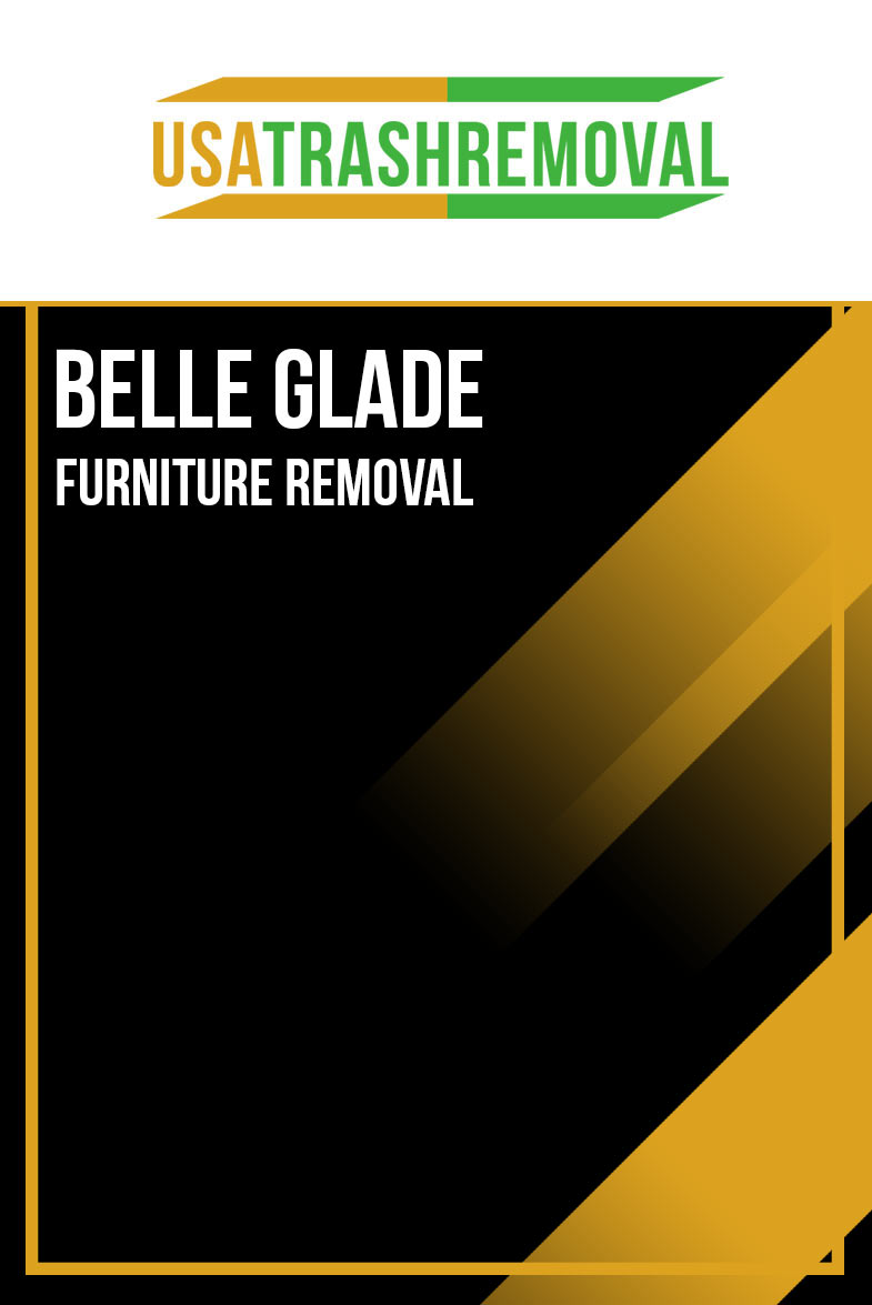 Belle Glade FL Furniture Removal