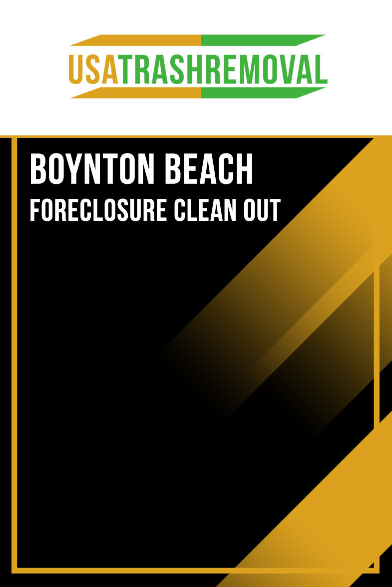 Boynton Beach FL Foreclosure Cleanout