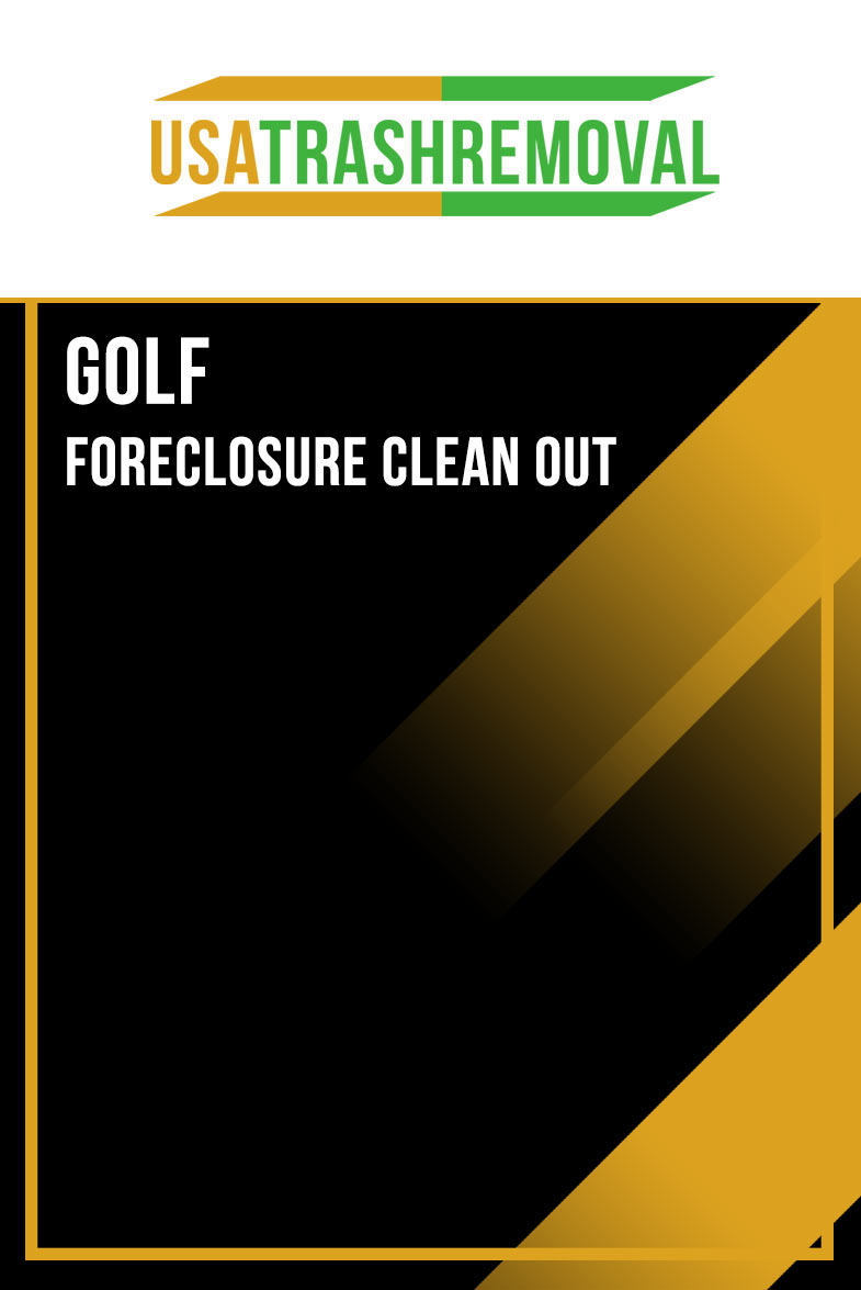 Golf FL Foreclosure Cleanout