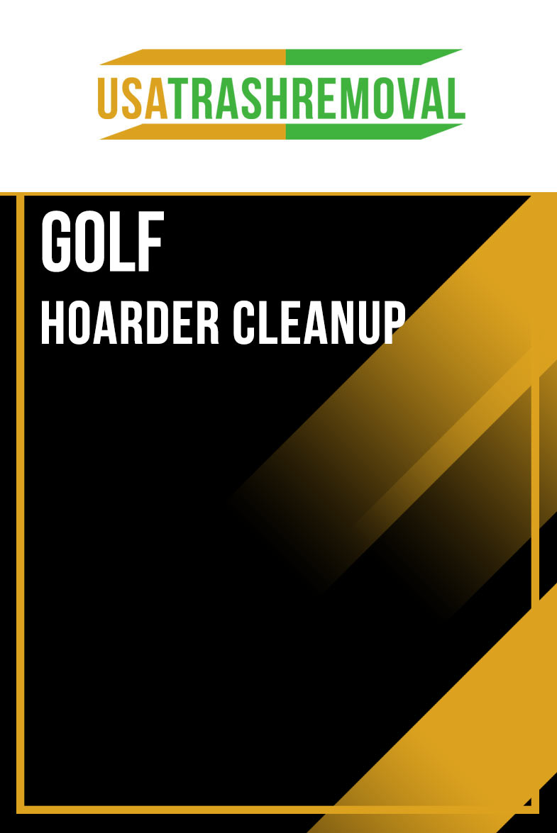 Golf FL Hoarder Cleanup