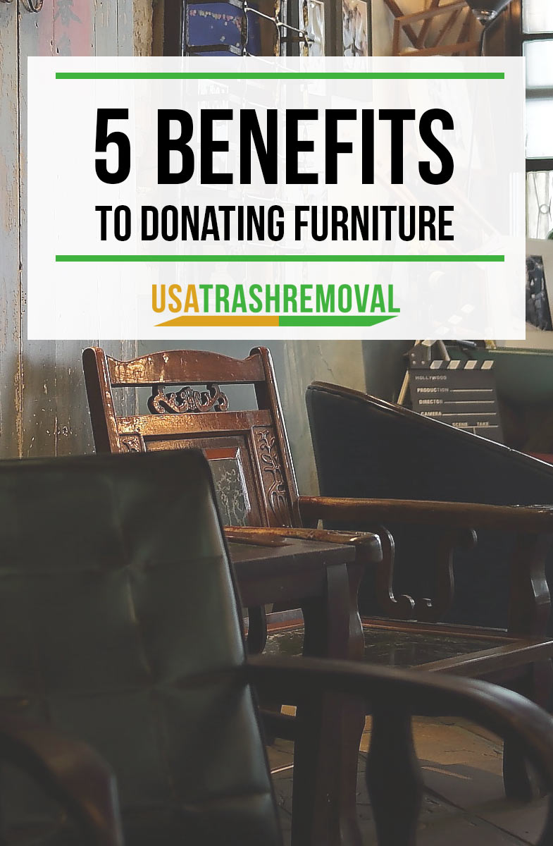 Furniture Removal Tip - Donating Furniture